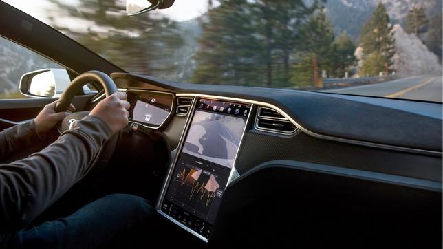 L'ammiraglia della gamma Tesla