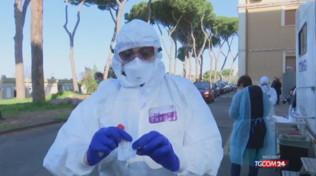 Test a Genova, iniziati i tamponi coronavirus in auto