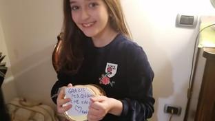 """Coronavirus, la piccola Matilde dona il salvadanaio all'ospedale di Terni: """"Grazie per quello che fate"""""""