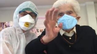 A 104 anni nonna Ada è guarita: