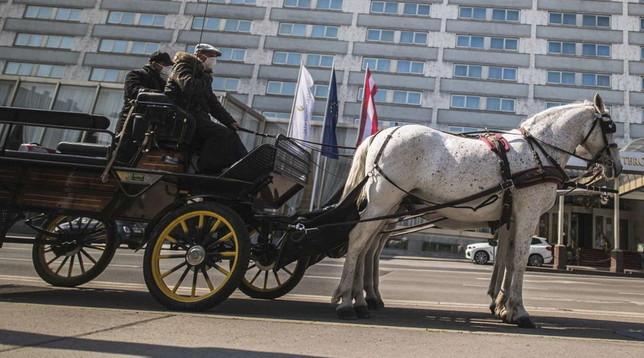 A Vienna il cibo si consegna... in carrozza