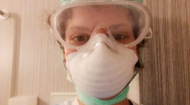 Una infermiera volontaria dell'ospedale di Bergamo a Tgcom24: