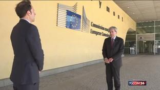 "Gentiloni a News Mediaset: ""Eurogruppo decisivo, ci aspettiamo un'intesa"""