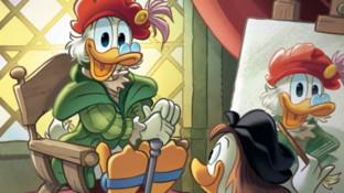 Su Topolino l'omaggio a fumetti a Raffaello, nel 500mo della sua scomparsa