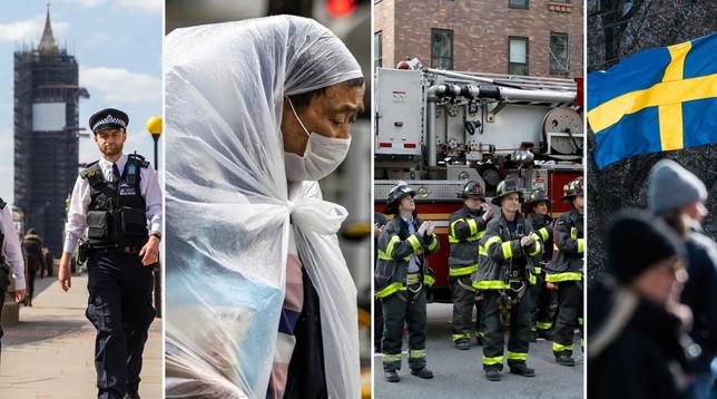 Gb, nuovo balzo di morti: picco europeo |La crisi toccherà 195 mln di lavoratori | Nuovi casi in Svezia | Usa, 12mila morti