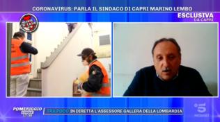 Capri, il sindaco