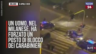 Forza un posto di blocco a Milano: arrestato dopo un inseguimento di 10 km