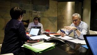 L'Eurogruppo finanziario in teleconferenza causa coronavirus