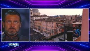 """""""GF Vip"""", i concorrenti in lacrime davanti alle immagini di Roma deserta"""