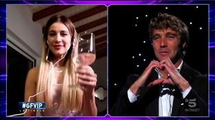 """""""GF Vip"""", Paolo Ciavarro e la sorpresa di Clizia: """"Sei troppo bella, mi manchi"""""""