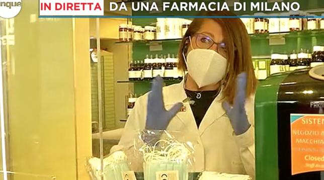 Coronavirus, mascherine della Regione Lombardia: