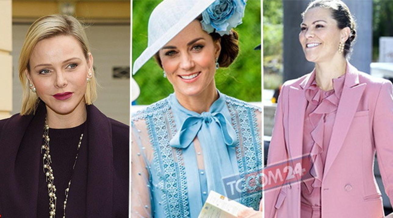 Non solo Kate, guarda chi sono le altre principesse