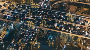 Oroscopo: che succede ai 12 Segni quando sono in mezzo al traffico?
