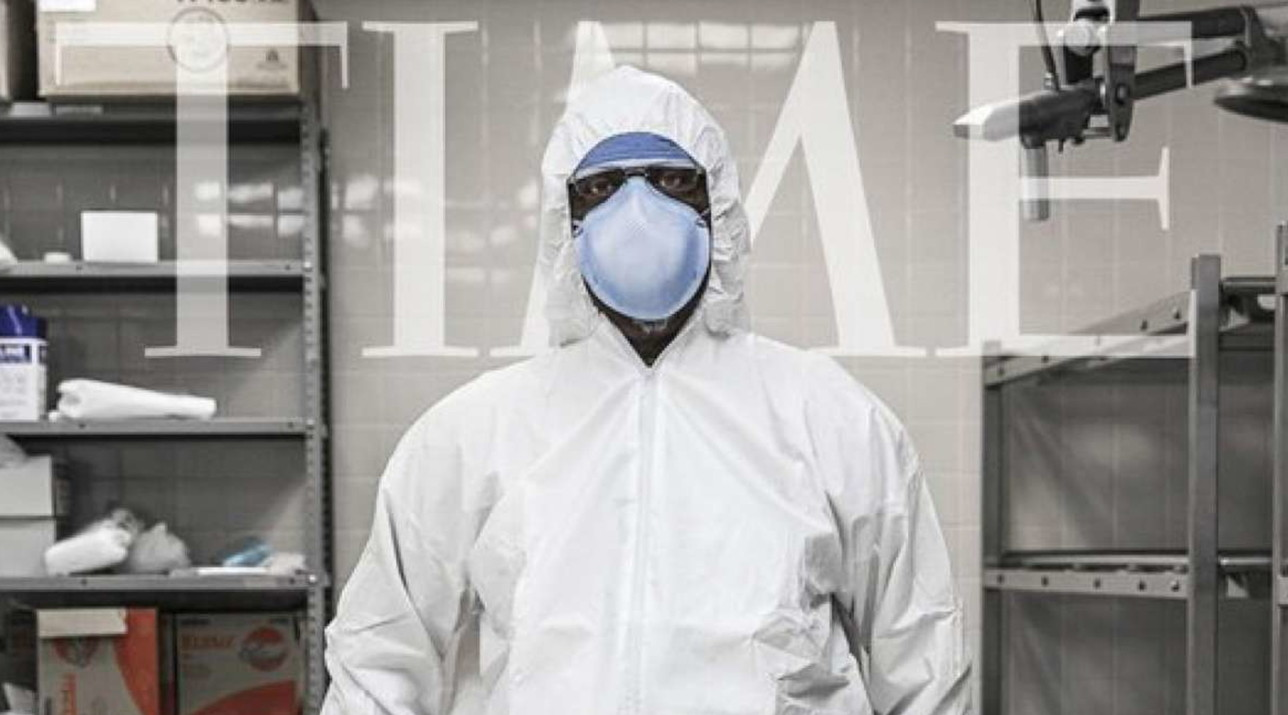 """La rivista Time dedica la propria copertina all'emergenza coronavirus e ai suoi """"eroi"""""""