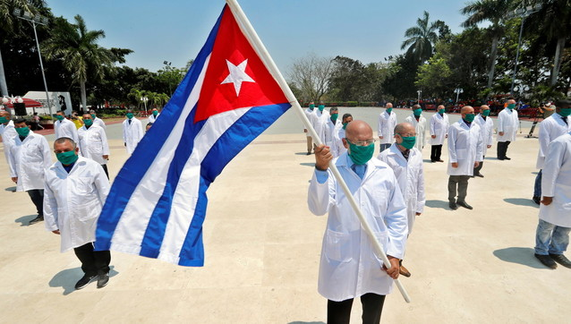 Coronavirus, medici cubani in aiuto del Piemonte