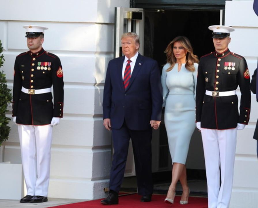 Melania Trump, cinquant'anni e l'amore speciale per le scarpe