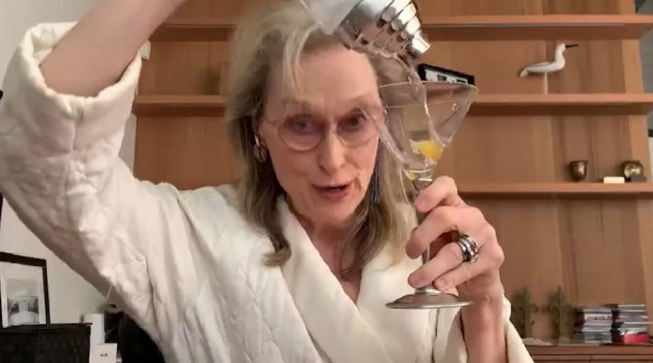Meryl Streep... un cocktail social tra amiche