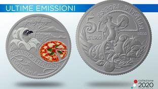 La Zecca dello Stato dedica una moneta speciale alla pizza