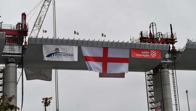 Genova, il completamento del nuovo ponte