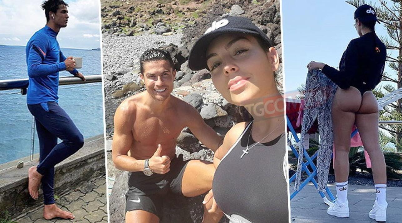 Georgina e Ronaldo a Madeira, romantici ed esplosivi al mare