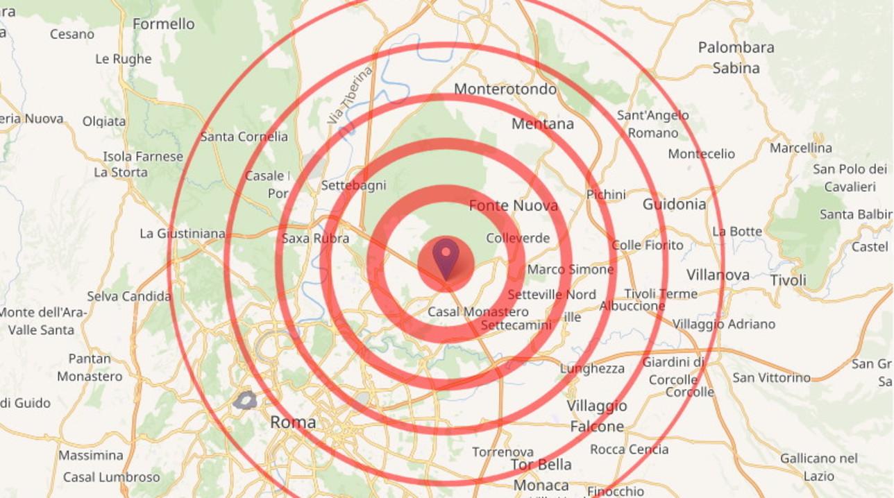 Scossa di terremoto di magnitudo 3.3 a Roma: non segnalati danni ...