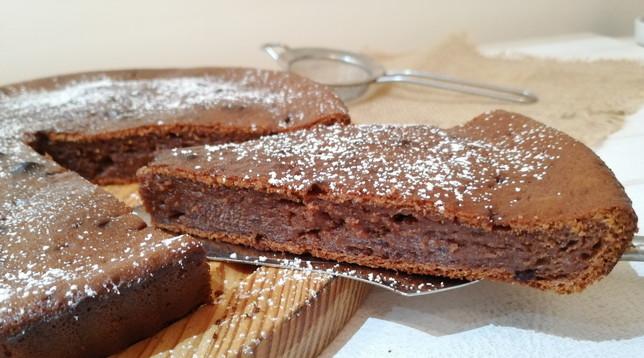 Torta morbida al mascarpone e cioccolato