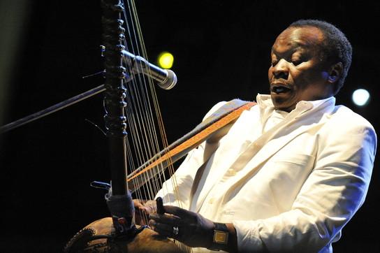 Mory Kanté, uno dei protagonisti della world music