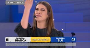 Gaia in lacrime per le accuse di plagio, ma è tutto uno scherzo