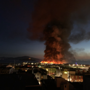 Usa, incendio nel celebre quartiere Fisherman's Wharf di San Francisco