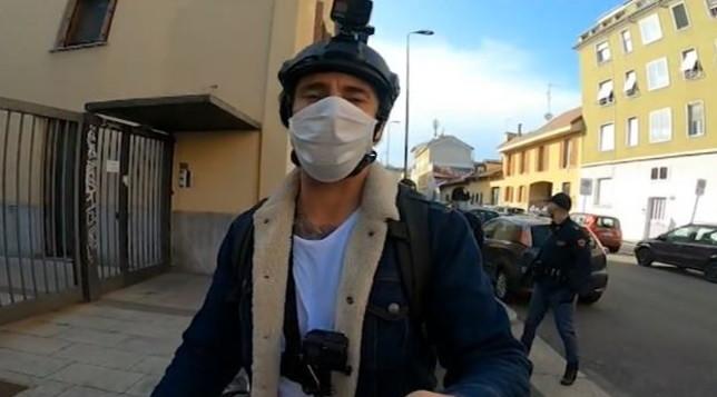 Brumotti aggredito a Milano |  l'inviato di Striscia in ospedale