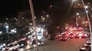 Notte di caos a Napoli, il lungomare bloccato per ore