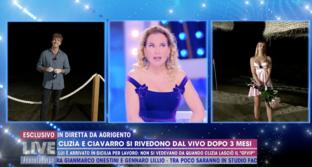 Primo incontro tra Clizia e Paolo, ma loro già si sono visti: la rabbia in diretta di Barbara d'Urso
