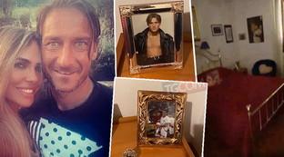 Ilary Blasi mostra la cameretta di Francesco Totti ai follower