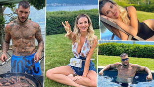 Diletta Leotta, bikini e barbecue in riva al lago