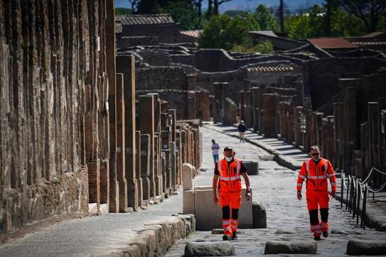 Pompei riapre a visitatori e turisti