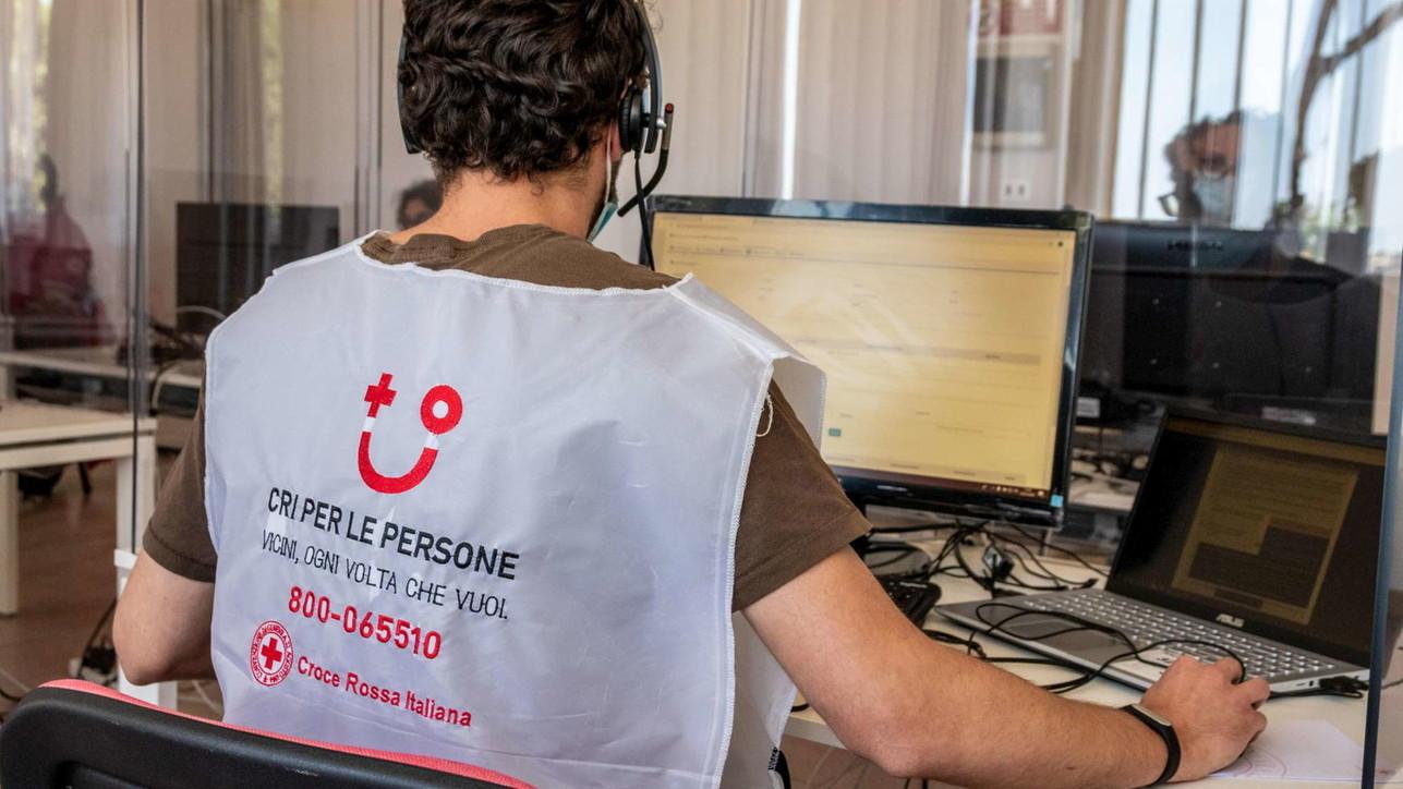 Test sierologico nazionale, la Croce Rossa chiama al telefono
