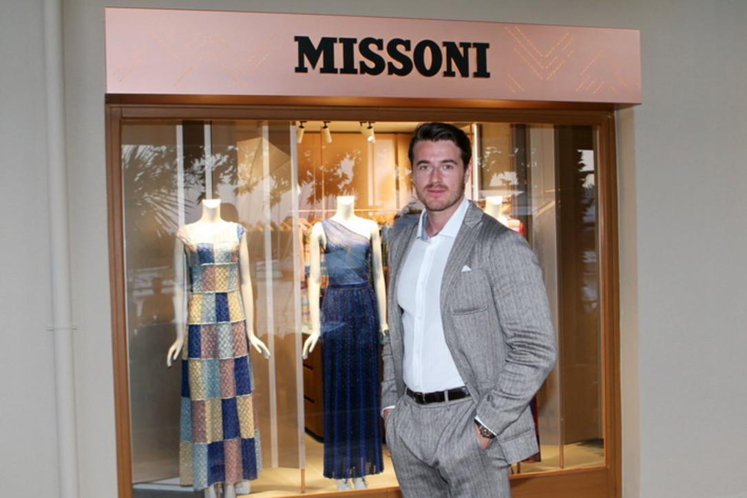 """Giacomo Missoni: """"Colore e sport, così porto il brand in giro per il mondo"""""""