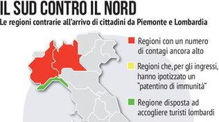 Fase 2, il Sud contro il Nord: scontro sul turismo