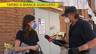 Fuori onda imbarazzante, Tapiro d'oro a Bianca Guaccero