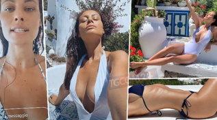 """Marica Pellegrinelli vola in Sicilia, in bikini rassicura: """"Sono negativa ai test sierologici"""""""