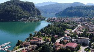 Lago di Lugano, uno scrigno verde per ritrovare l'armonia