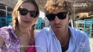 Clizia Incorvaia e Paolo Ciavarro finalmente insieme