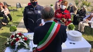 Perugia, volontari sposi in divisa