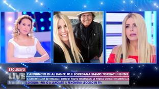 """Loredana Lecciso: """"Al Bano ha voluto fare chiarezza sulla nostra storia"""""""