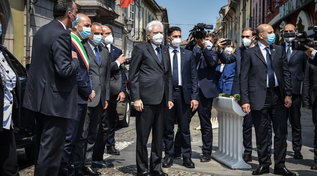 """2 Giugno, Mattarella in visita a a Codogno: """"Da qui riparte l'Italia del coraggio"""""""