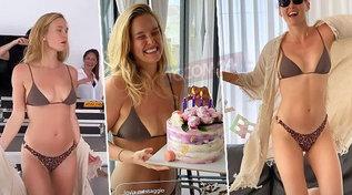 Compleanno in bikini e scatenato per Bar Refaeli
