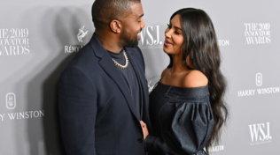 Kanye West e Kim Kardashian, che coppia regale!