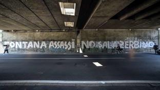 "Milano, scritta shock apparsa sotto un cavalcavia: ""Fontana assassino, Sala zerbino"""
