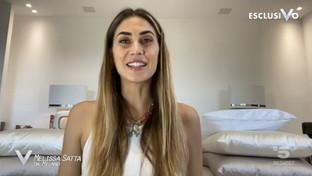 """Il videomessaggio di Melissa Satta per Verissimo: """"Non vedo l'ora di tornare in Sardegna"""""""