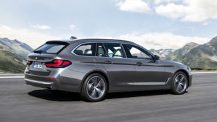 BMW nuova Serie 5 Berlina e Touring